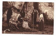 Carte postale Jove Pau- 91 : Pyrénées, types et costumes, famille - Barèges 1946