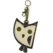 New Chala Purse Bag Charm Clip On Key Ring FOB Coin Purse  HOOHOO OWL cute gift