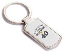 40th Birthday Gift Present Idea For Men Women Ladies Dad Mum Happy 40 Key Ring