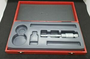 "Etalon Internal Hole Bore Gage Micrometer .335-.400"" 531B with Case"