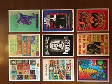 CONCERT THEME VINTAGE SET OF 20 POSTCARDS - COLLECTORS EDITION - CREAM BEATLES