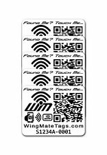 Smart NFC Stickers Pack of 5! No batteries needed! Travel supplies & accessories