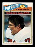 1977 Topps #460 John Hannah NM/NM+ Patriots 505457