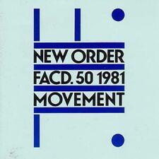 NEW ORDER MOVEMENT LP VINYL (2009 Reissue)