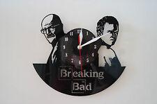 Breaking Bad Design vinyl record wall clock [ black gloss sticker ] home art