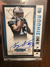 2014 Panini Contenders 1/1 Rookie Ink Autograph Kelvin Benjamin Panthers RC