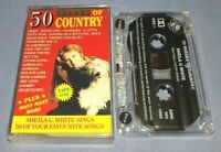 SHEILA G WHITE 50 SHADES OF COUNTRY cassette tape album T9078