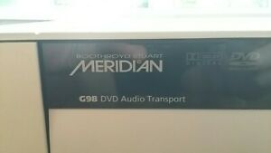 Meridian G98 DVD CD Audio Transport