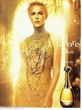 PUBLICITE ADVERTISING  116  2013  Dior  & Charlize Theron parfum J'ADORE absolu