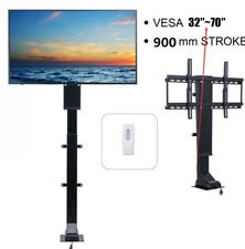 """Motorized TV Mount Lift for 32"""" ~ 70"""" TVs Height Adjustable w/ Remote Controller"""