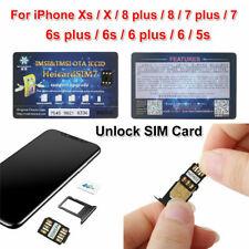 Nano-SIM Unlock Card Heicard Sim Chip For iPhone X XS 8 7 6S 6Plus 5S iOS 12 GPP