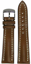 20mm RIOS1931 for Panatime Cognac Shell Cordovan Watch Band w WS For Breitling 2