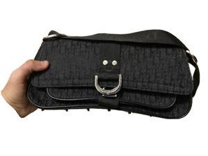 Christian Dior monogram women's bag clutch vintage rare 90s