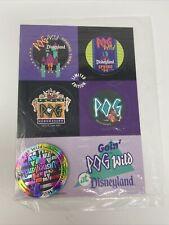 Sealed Disneyland Pogs From Spring 1994 Pog Wild WPF The World Pog Federation