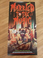 SHINee - MARRIED TO THE MUSIC [ORIGINAL POSTER] *NEW* K-POP