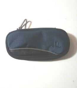 Sony Playstation PSP Portable Carrying Case Black/ Blue