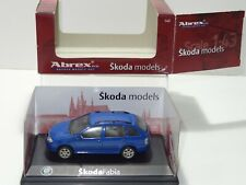 Abrex SKODA FABIA Dealer Promotional Model (270) 1/43 Boxed