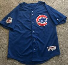 Mens Size 52 Majestic Chicago Cubs Alfonso Soriano #12 MLB Away Baseball Jersey