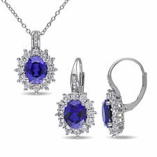 Amour Silver Earrings and Necklace