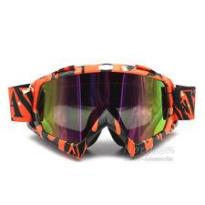 Motocross ATV UTV Dirtbike Offroad Goggles Ski Windproof Glasses Reflective Lens