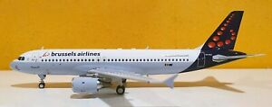 INFLIGHT 200 WBA320027 - 1/200 A320-214 BRUSSELS AIRLINES REG: OO-SNJ WITH STAND