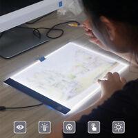 A5 Drawing Tablet LED Tracing Light Box Board Art Painting Pad Artcraft Stencil