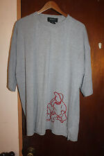 Tuff Men's Gray T Shirt Size 2XL XXL Hip Hop BBoy