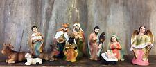 Traditional Nativity Set 11 Figures Christmas Holy Ornament  89304