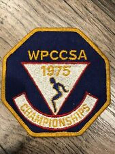 1975 patch Western Pennsylvania Country Club Swimming Association WPCCSA champs