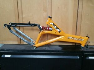 """1997 Specialized FSR Comp Full Suspension Mountain Bike Frame 17"""" low miles"""