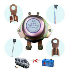 Button Car Battery Disconnect Control Power Supply Main Switch Kit Anti-Theft