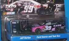 HOT WHEELS Pit Crew #99 Jeff Burton Ford Taurus Pro Racing Rubber Tires Nascar