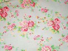 Shabby Retro Cath Kidston Vintage Spray Flowers Floral Flower Aqua Pink Chic