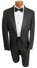 Boys Size 6 Black Raffinati Tuxedo Tailcoat with Satin Peak Lapels *Made in USA*