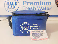 6 Pack of Blue Can Emergency Survival Drinking Water 50 Year Shelf Life