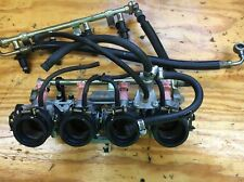 03-06 Honda CBR600RR OEM Throttle Body Bodies Assembly, Fuel Rail & Intake Boots