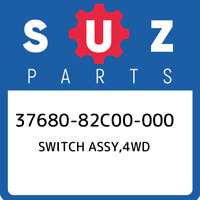 37680-82C00-000 Suzuki Switch assy,4wd 3768082C00000, New Genuine OEM Part