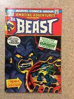 Amazing Adventures # 17 Marvel Comics 1973 Starlin Art Origin of the Beast & #12
