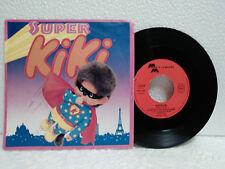 45T BO Chansons de Super Kiki LP Vinyle Sekiguchi 1983 Carrere Merry Melody WAG