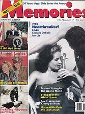MEMORIES MAGAZINE--SPRING,1988-PREMIERE ISSUE