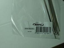 (1) New Mavic Ksyrium Elite Non Drive Side Silver Spoke 2009-10 301mm 99686601