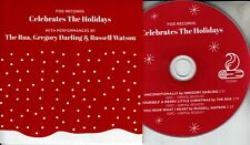 THE RUA GREGORY DARLING RUSSELL WATSON FOD Records 2018 UK 3-trk promo test CD