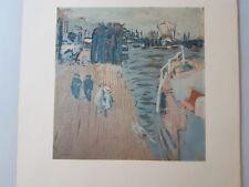 Lithographie Edouard Vuillard ( 1868 - 1940 )