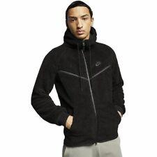 Nike Sportswear Sherpa Fleece Windrunner Hoodie Black Large
