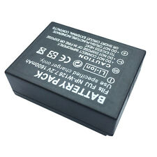 NP-W126 1600mAh Rechargeable Camera Li-ion Battery for FinePix HS30EXR Frugal