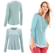 "CAbi Billi Cardigan Button Up Sweater Top /""Breeze/"" Color Small NWT $89"