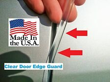 CLEAR DOOR EDGE GUARDS  25 Foot Roll for 2 cars Quality made in the USA!!