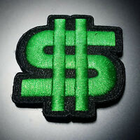 "MONEY patch 2.5"" x 2.5""  with hook and loop backing - airsoft milsim paintball"