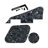 NEW Black Pearl 4Ply LP Electric Guitar Pickguard Back Plates with Black Bracket