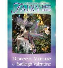 Fairy Tarot Cards by Doreen Virtue e Radleigh VALENTINE NUOVI / SIGILLATI gratis UK P & P